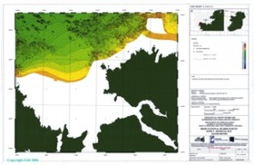 1:60,000 Bathymetry Chart, Donegal