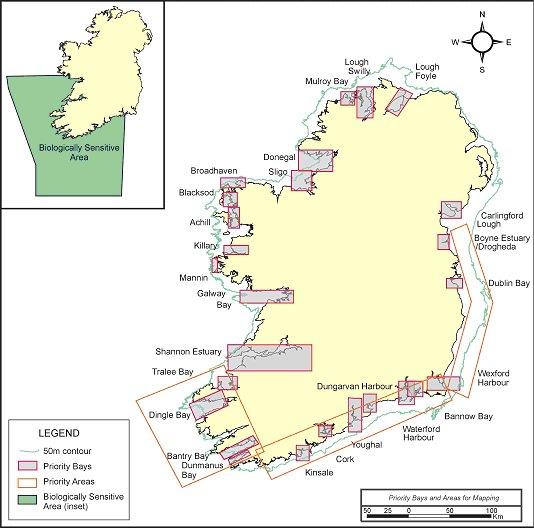 Dingle Bay Ireland Map.Irish National Seabed Survey