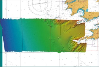 Coverage of area west of Bantry Bay, Celtic Explorer 2004